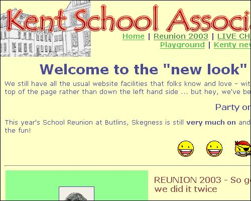 The first relaunch site