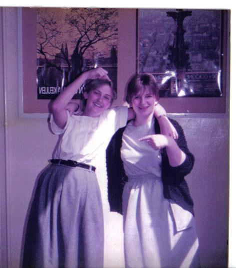 Katrina Hancox and Lisa Keenan 1984