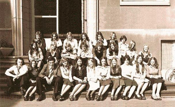 Sixth form boarders in 1975