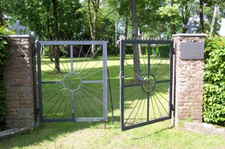 01) The gates to the Memorial Garden